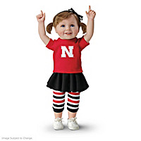 Husker Girls Have More Fun! Child Doll