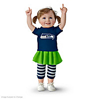 Seahawk Girls Have More Fun! Child Doll