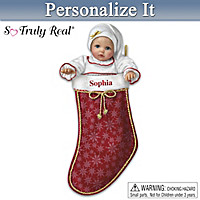 My Christmas Baby Personalized Baby Doll