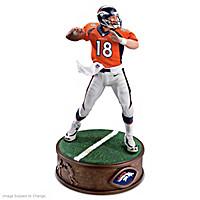 Peyton Manning Sculpture