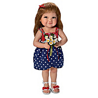 The Sweetest Gift Is A Daughter's Love Child Doll