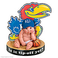 Kansas Jayhawks #1 Fan Baby Doll