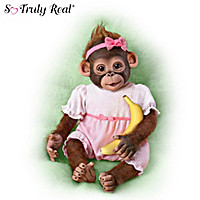 Bouncing Bella Monkey Doll