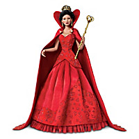 Queen Of Hearts Portrait Doll