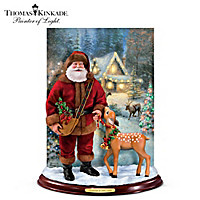 Thomas Kinkade Christmas At Deer Creek Portrait Doll