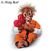 Prisoner Of Love Monkey Doll