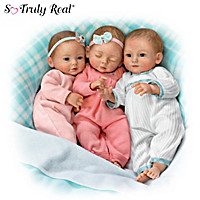 Three's A Charm! Baby Doll Set