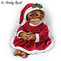 Holly The Holiday Monkey Doll