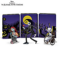 Disney The Nightmare Before Christmas Matchbox Doll Set