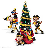 Steelers NFL Elves Figure Set