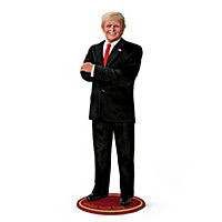 President Donald Trump Portrait Doll