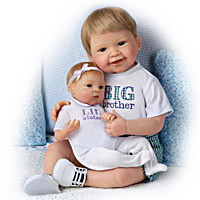 A Brother's Love Child And Baby Doll Set