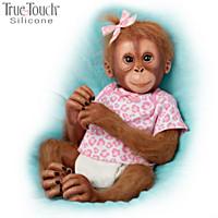 Baby Mina Monkey Doll