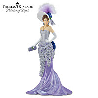 Thomas Kinkade Wondrous As Wisteria Figurine