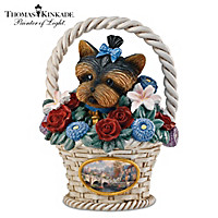 Thomas Kinkade Blooming Moments Figurine