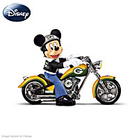 Disney Green Bay Packers Headed For Victory Figurine