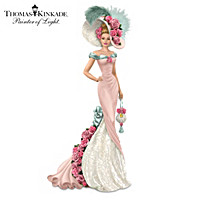 Thomas Kinkade Blossoming Love Figurine