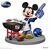 Disney New York Giants Fired Up For A Win Figurine