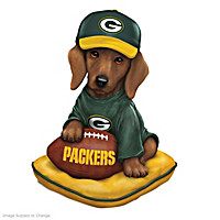 Packers Sunday Afternoon Quarter-Bark Figurine