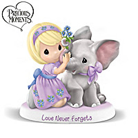 Precious Moments Love Never Forgets Figurine