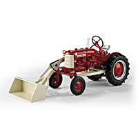 Farmall 560 Cub With One Arm Loader Diecast Tractor