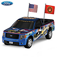 Ford F-150 Semper Fi Truck Sculpture
