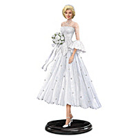 Marilyn Monroe As Lorelei Lee, Blissful Bride Figurine