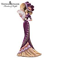 Thomas Kinkade An Elegant Love Figurine
