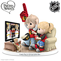 Every Day Is A Goal With You Blackhawks® Figurine
