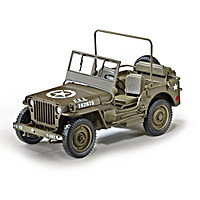 1/4-Ton U.S. Willys Jeep Diecast Car