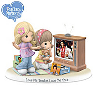 Precious Moments Love Me Tender, Love Me True Figurine