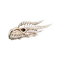 Dragon Skull Figurine