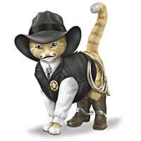Sheriff S. Purrs Figurine