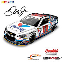 Dale Jr. No. 88 Valvoline Throwback 2015 Diecast Car