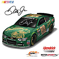 Dale Earnhardt Jr. #88 DEW Shine Race Car Sculpture