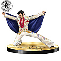 Sparkling Salute To The King Figurine