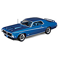 1:18 1969 Mercury Cougar Eliminator Diecast Car