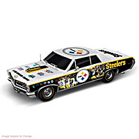 Pittsburgh Steelers Power & Pride Collage Car Sculpture