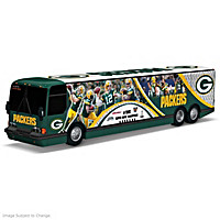 Green Bay Packers On The Road To Victory Bus Sculpture
