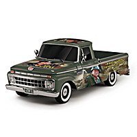 John Wayne - A Military Tribute Truck Sculpture