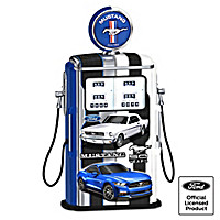 Fueled For Speed Ford Mustang Gas Pump Sculpture