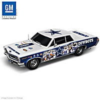 Dallas Cowboys Power & Pride Collage Car Sculpture