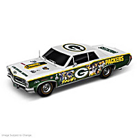 Green Bay Packers Power & Pride Collage Car Sculpture