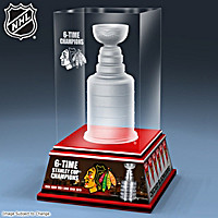 Stanley Cup® Laser Etched Block Sculpture