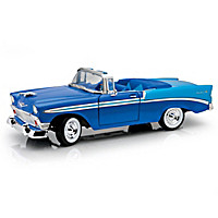 1:18 60th Anniversary 1956 Chevrolet Bel Air Diecast Car