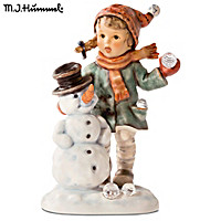 M.I. Hummel: Snow Day Figurine
