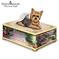 Thomas Kinkade Forever My Friend Yorkie Keepsake Box