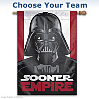 College Sports STAR WARS 2-Sided Vertical Darth Vader Flag
