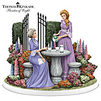 Thomas Kinkade The Garden Of Memories Figurine