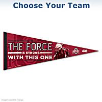 College Sports STAR WARS Yoda Premium Pennant